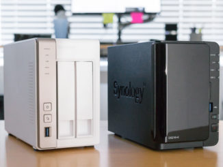Two typical NAS devices most suited for the home